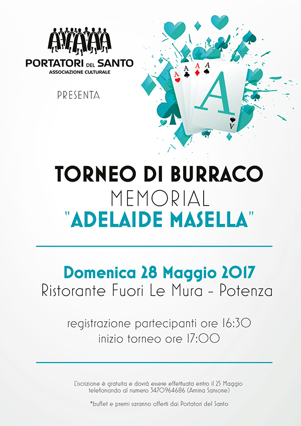 ade memorial torneo Burraco